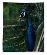 Peacock Dance Fleece Blanket