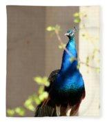 Peacock II Fleece Blanket