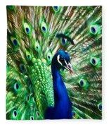 Peacock - Impressions Fleece Blanket