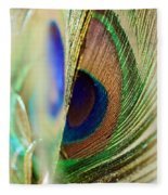 Peacocks Dance The Samba Fleece Blanket