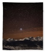 Peaked Interest Fleece Blanket