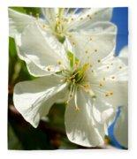 Pear Blossom Fleece Blanket