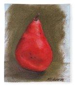 Pear Study 2 Fleece Blanket