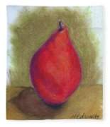 Pear Study 3 Fleece Blanket