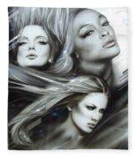 Pearl Passions Fleece Blanket