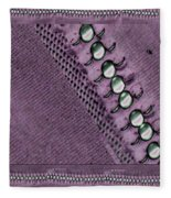 Pearls And More Pearls Fleece Blanket