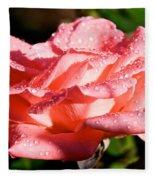 Pearly Petals Fleece Blanket
