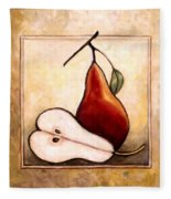 Pears Diptych Part Two Fleece Blanket
