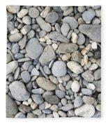 Pebble Background Fleece Blanket