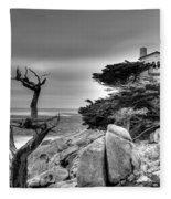 Pebble Beach 2 Fleece Blanket