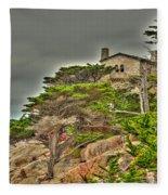 Pebble Beach 3 Fleece Blanket
