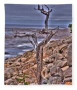 Pebble Beach 4 Fleece Blanket