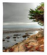 Pebble Beach Fleece Blanket