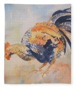 Pecking Fleece Blanket