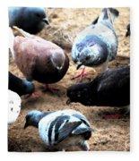 Pecking Order Fleece Blanket