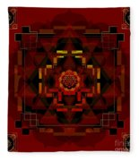 Pele Goddess Of Fire 2013 Fleece Blanket