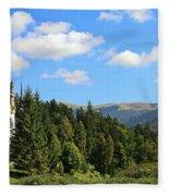 Peles Castle Fleece Blanket