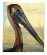 Pelican Bill Fleece Blanket