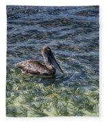 Pelican Floater Fleece Blanket