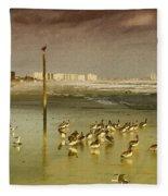 Pelican Haven Fleece Blanket