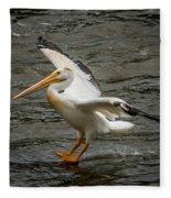 Pelican Landing Fleece Blanket