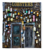 Pemaquid Lobster Shack Fleece Blanket
