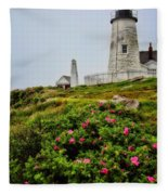 Pemaquid Point Fleece Blanket