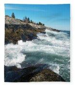 Pemaquid Point Lighthouse 1 Fleece Blanket