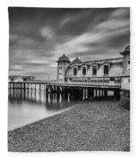 Penarth Pier 1 Mono Fleece Blanket