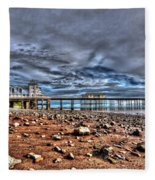 Penarth Pier 7 Fleece Blanket