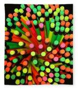 Pencil Blossom Fleece Blanket
