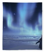 Penguin Dreams Fleece Blanket