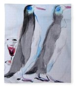 Penguins Fleece Blanket