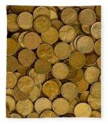 Pennies - 3 Fleece Blanket
