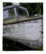 Pennsylvania Boat Fleece Blanket