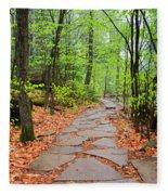 Pennsylvania Hiking Trail Fleece Blanket