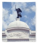 Pennsylvania Monument - Gettysburg Fleece Blanket