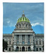 Pennsylvania State Capitol Fleece Blanket