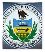 Pennsylvania State Seal Fleece Blanket