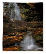 Pennsylvania Waterfalls Fleece Blanket