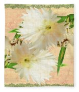 Penny Postcard Cheerful Fleece Blanket