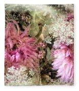 Penny Postcard Pearlescent Fleece Blanket
