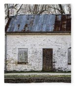 Pennyfield Lockhouse On The C And O Canal In Potomac Maryland Fleece Blanket