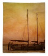 Pensacola Harbor Fleece Blanket