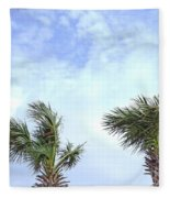 Pensacola Palms Fleece Blanket
