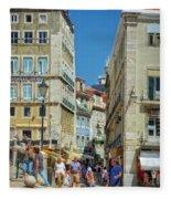 Pensao Geres - Lisbon Fleece Blanket