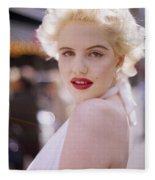 Beauty Of Marilyn Monroe Fleece Blanket