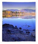 Penticton Reflections Fleece Blanket