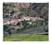 Pepperdine University On A Hill Fleece Blanket