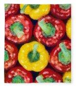 Peppers Fleece Blanket